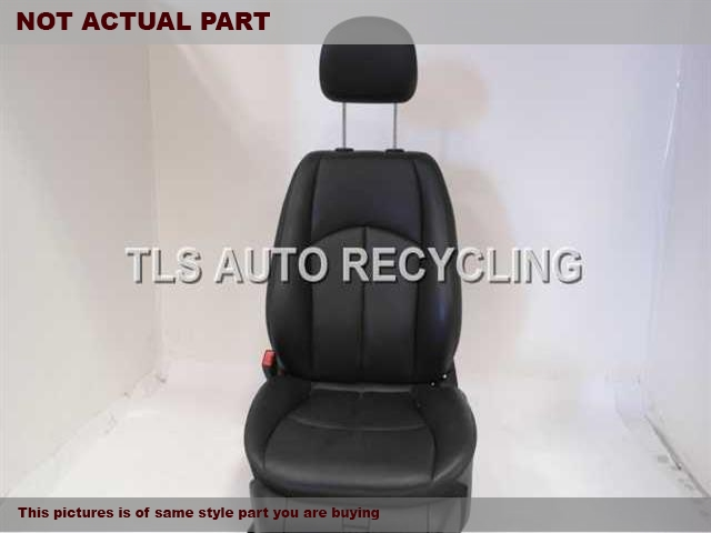 2007 Mercedes E350 Seat, Front.  2119107992 2119101393 2119707650BLACK DRIVER SIDE FRONT LEATHER SEAT