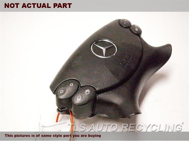 BLACK STEERING WHEEL AIR BAG