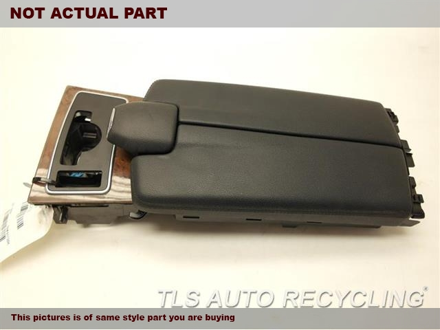 2010 Mercedes E350 Console Front And Rear  BLK,212 TYPE, (FLOOR), (SDN), E350