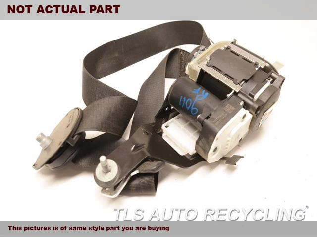 2012 Mercedes E350 Seat Belt front. GRY,212 TYPE, SDN, E350