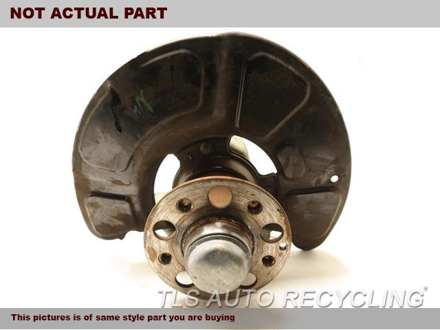 2014 Mercedes E350 Spindle Knuckle, Fr  LH,212 TYPE, SDN, E350, RWD, L.
