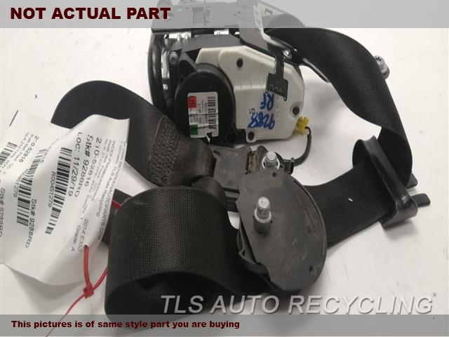 2012 Mercedes E350 Seat Belt Front  GRY,212 TYPE, SDN, E350