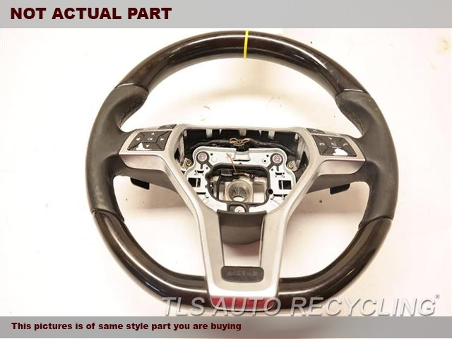 2014 Mercedes E350 Steering Wheel. LIGHT SCUFF'SBLK,LEA
