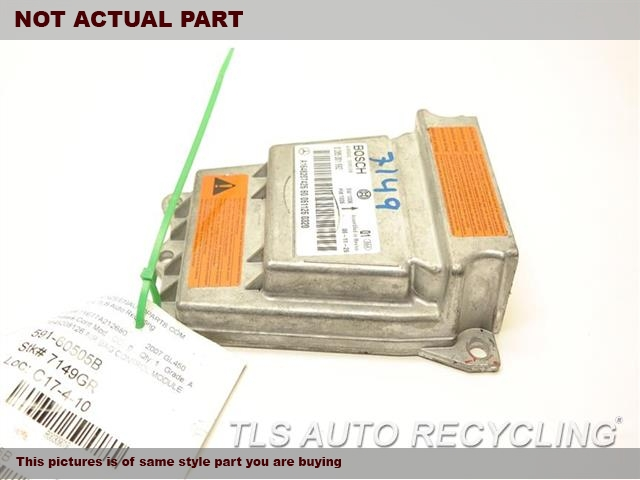 2007 Mercedes GL450 Chassis Cont Mod. 1648208126 AIR BAG CONTROL MODULE