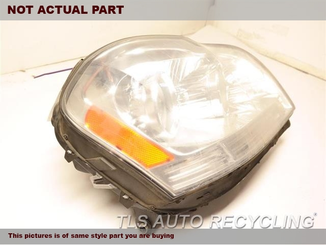 2008 Mercedes Gl320 Headlamp Assembly  RH,164 TYPE, GL320, HALOGEN, R.