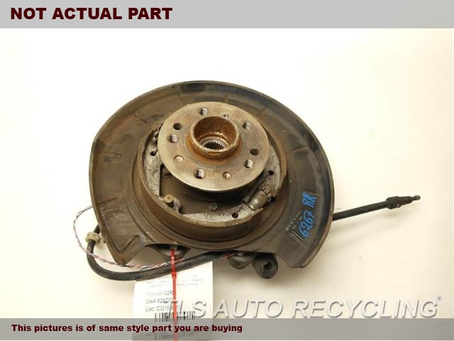 2007 Mercedes GL450 rear nuckle / stub axle. 1643501408 1643560201PASSENGER REAR STUB AXLE W/HUB
