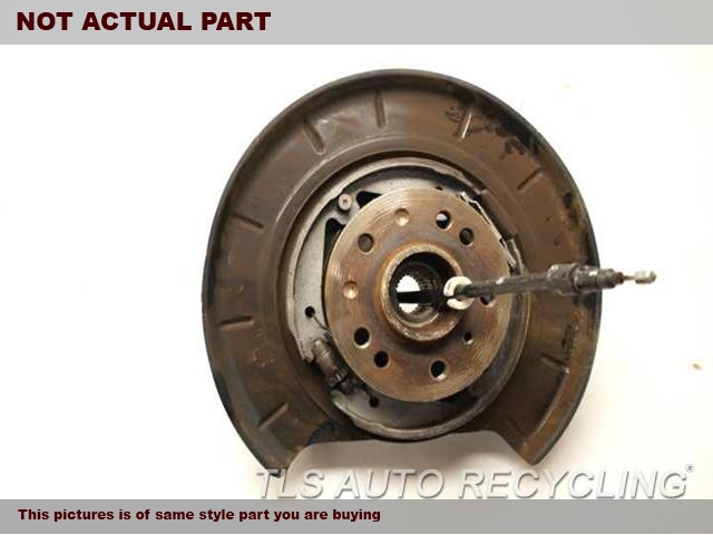 2007 Mercedes GL450 rear nuckle / stub axle. 1643501308 1643560201DRIVER REAR STUB AXLE W/HUB