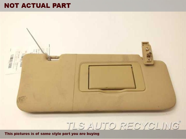 Used mercedes gl450 sun visor shade 2008 2007 1648102210 for Mercedes benz car sun shade