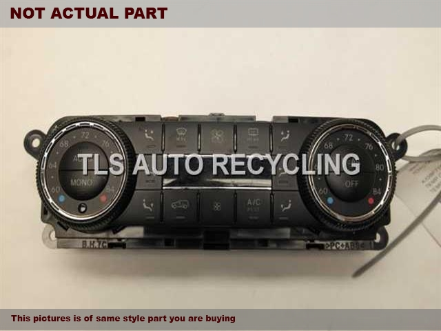 2007 Mercedes GL450 Temp Control Unit. BLK,164 TYPE, GL450, FRONT, US MARK