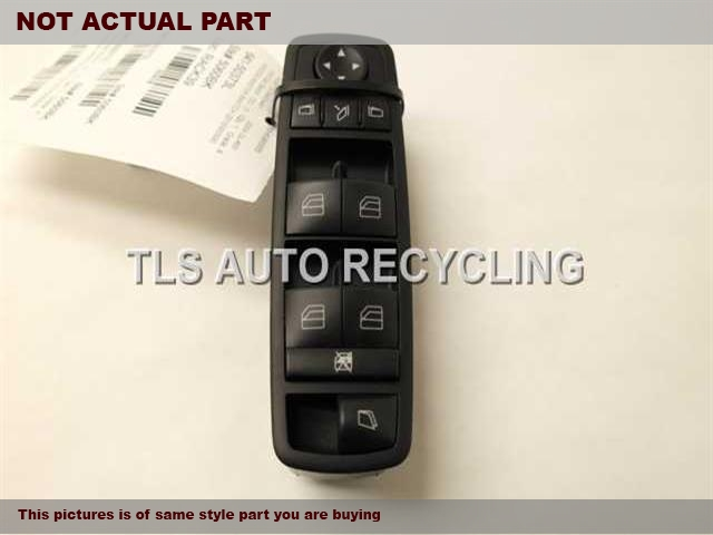 2007 Mercedes GL450 Door Elec Switch. MASTER WINDOW SWITCH 2518300590