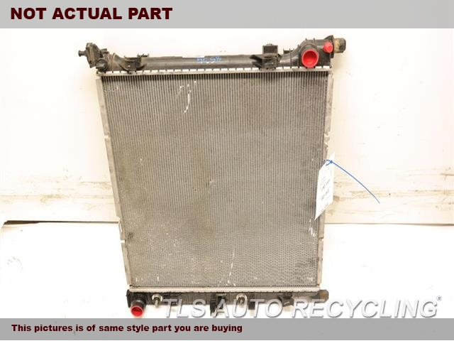 2015 Mercedes Gl550 Radiator  166 TYPE, GL550, ENGINE COOLING