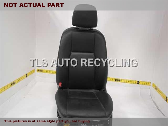 2012 Mercedes GLK350 Seat, Front. 2049107946 2049107001 0068205942 2049706650 2049107536BLACK DRIVER FRONT LEATHER SEAT