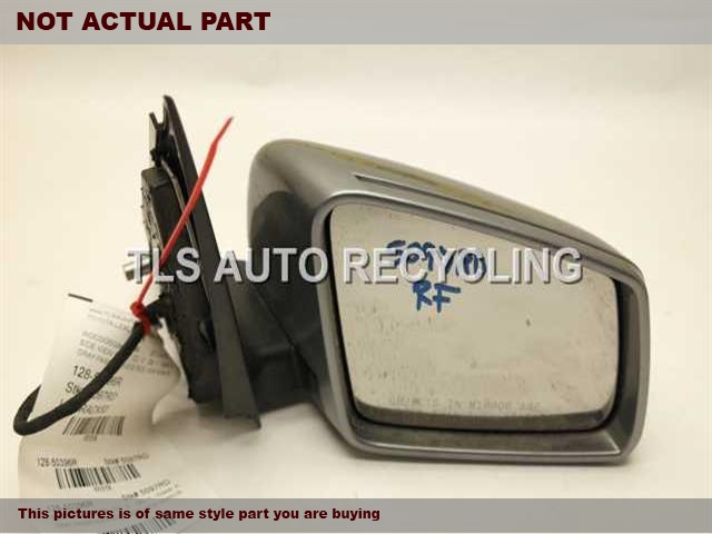 2011 Mercedes Glk350 Side View Mirror  RH,WHT,PM,204 TYPE, POWER, (GLK350)