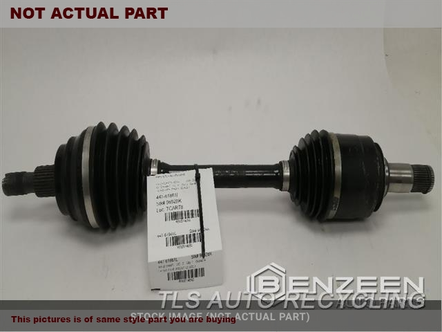 2015 Mercedes GL450 Axle Shaft. LH,166 TYPE, FRONT, GL450, W/O OFF