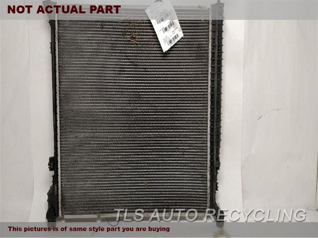 2015 Mercedes GL450 Radiator. 166 TYPE, GL450, ENGINE COOLING SYS