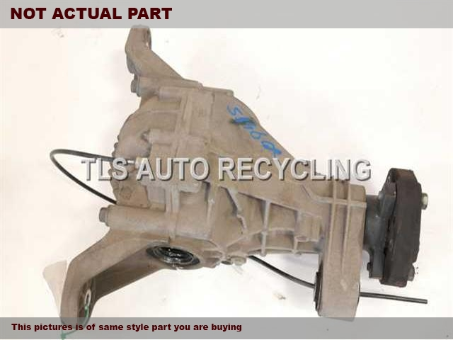 2007 Mercedes ML350 Rear differential. 164 TYPE, REAR, ML350