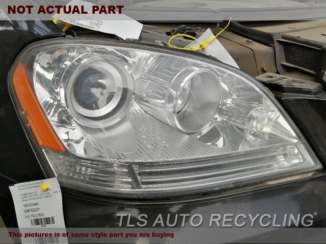 2007 Mercedes ML350 Headlamp Assembly. RH,164 TYPE, ML350, HALOGEN, R.