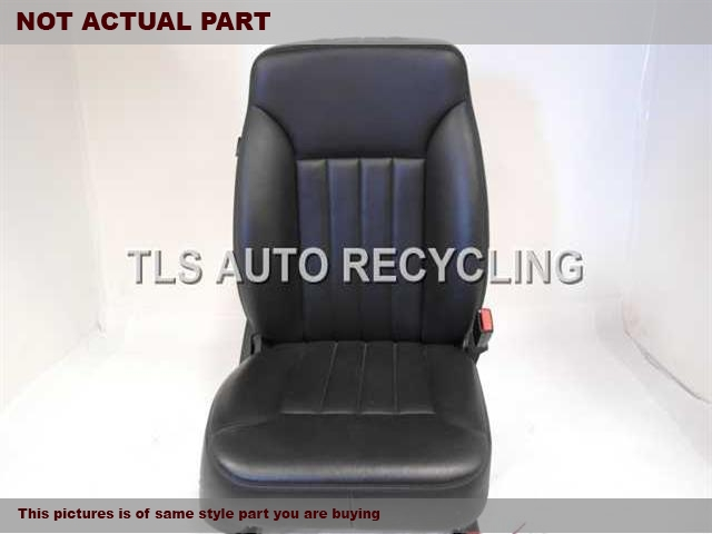 2006 Mercedes ML350 Seat, Front. 2519100446 2519101847 2519700050BLACK PASSENGER FRONT LEATHER SEAT