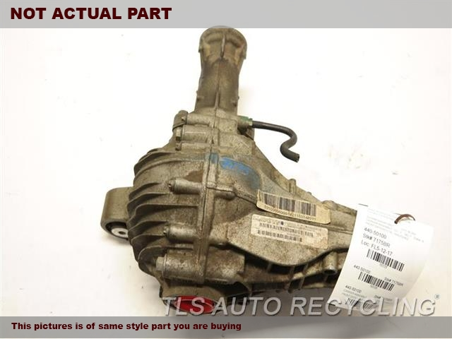 2009 Mercedes ML350 Rear differential. 164 TYPE, FRONT, ML350