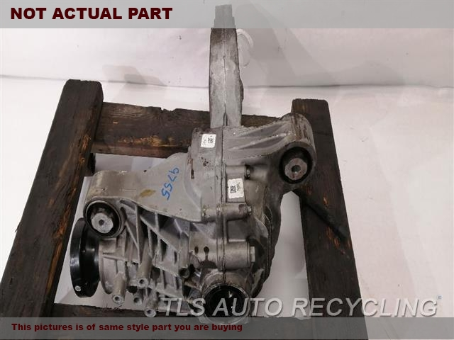2015 Mercedes ML250 Rear differential. 166 TYPE, FRONT, ML250
