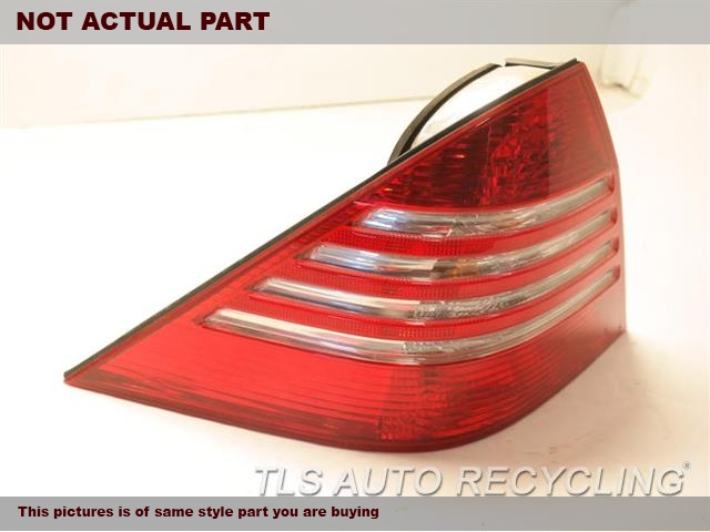 2006 Mercedes S55 Tail Lamp. LH,220 TYPE, S55, L.