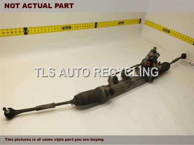 2006 Mercedes S430 Steering Gear Rack. W/O DRIVER INNER BOOT AND OUTER TIE RODSTEERING GEAR RACK
