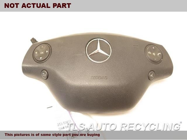 2008 Mercedes CL63 Air Bag. 216 TYPE, CL63, FRONT, DRIVER,WHEEL