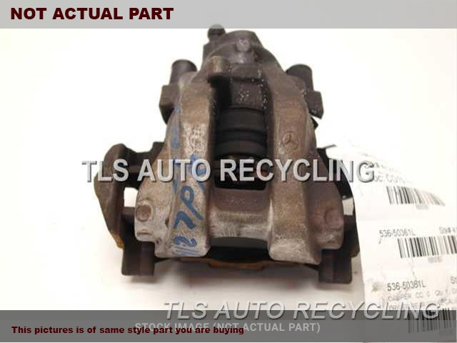 2007 Mercedes S550 Caliper  LH,221 TYPE, REAR, S550, RWD, L.