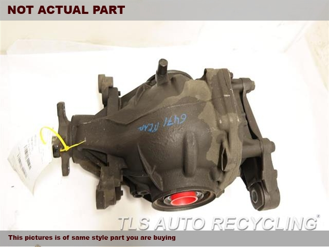 2007 Mercedes SL550 Rear differential. REAR DIFFERENTIAL 2193502014