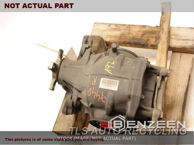 2007 Mercedes S550 Rear Differential  5.5L,221 TYPE, REAR, S550, RWD
