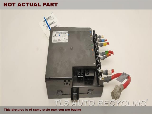 2007 Mercedes S550 Chassis Cont Mod. 22154004012215400401,POWER SUPPLY,IN TRUNK