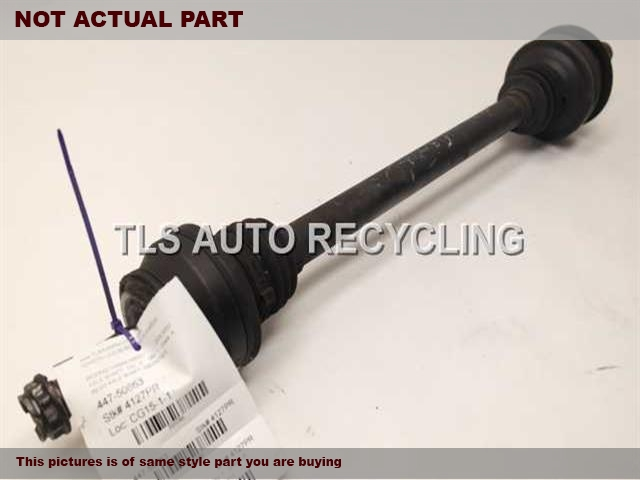 2007 Mercedes S550 Axle Shaft  221 TYPE, REAR, S550, RWD
