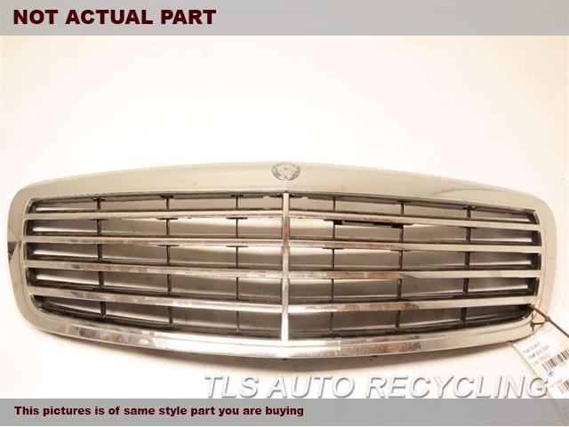 2007 Mercedes S550 Grille. SLV,221 TYPE, UPPER, S550, W/O ADAP