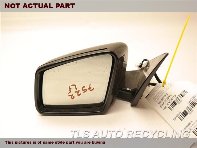 2013 Mercedes S550 Side View Mirror  LH,BLK,PM,221 TYPE, POWER, S550, L.