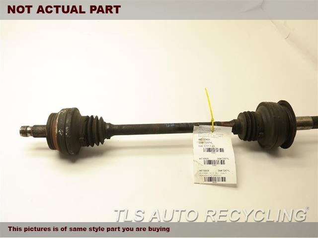 2009 Mercedes Sl550 Axle Shaft  230 TYPE, REAR, SL550