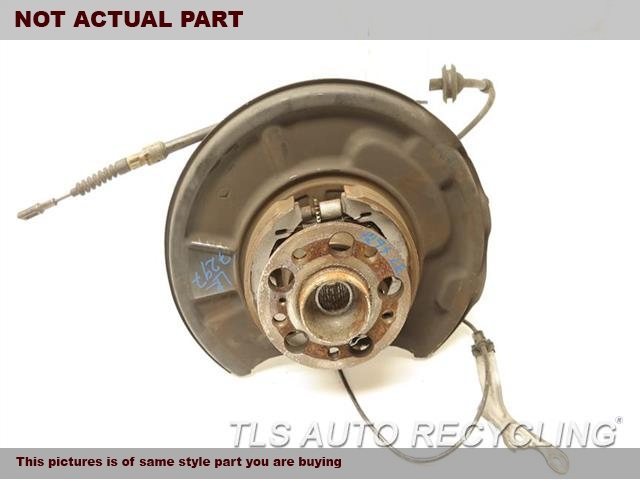 2009 Mercedes Sl550 Rear Nuckle / Stub Axle  LH,230 TYPE, SL550, L.