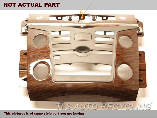 2017 Nissan ARMADA Dash Bezel. W/CUP HOLDER  969415ZU0BBROWN WOODGRAIN CENTER CONSOLE