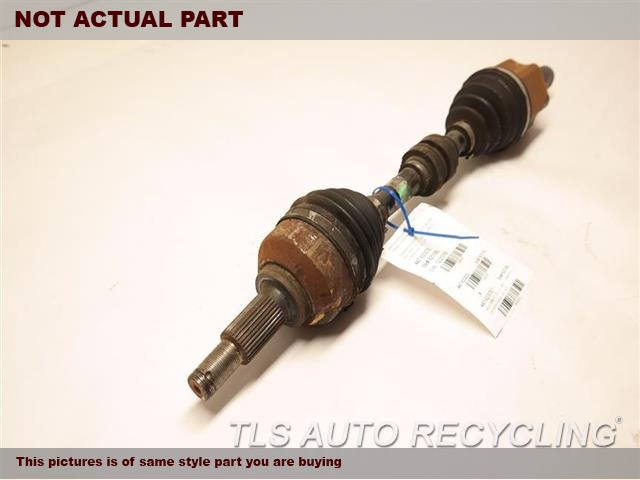 LH,FRONT AXLE, (AT, CVT), L.