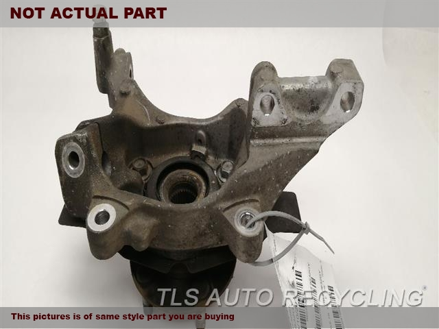 2012 Nissan QUEST Spindle Knuckle, Fr. BOTTOM EDGE SCUFFED LH,(ABS), LE, L.