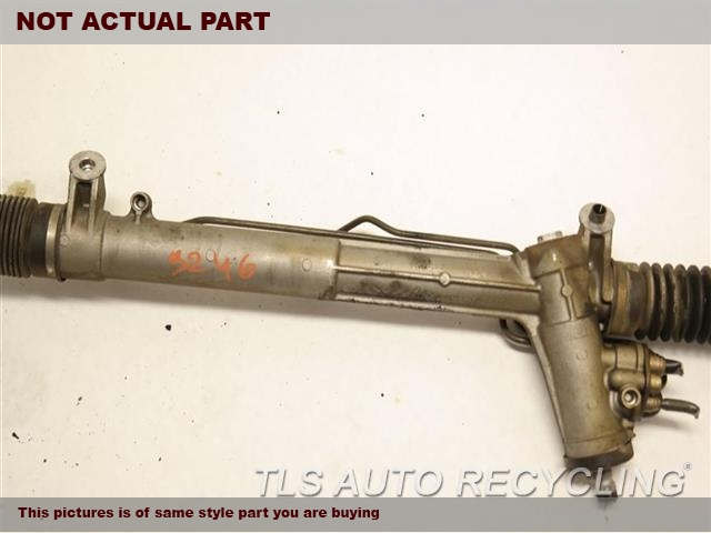2003 Porsche Boxster S Steering Gear Rack. POWER RACK AND PINION