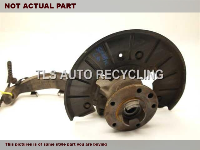 2005 Porsche Cayenne Spindle Knuckle, Fr. 95534115510 95534160510DRIVER FRONT KNUCKLE W/HUB