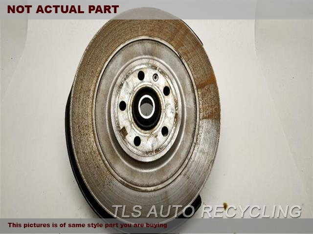 2017 Porsche MACAN rear nuckle / stub axle. LH