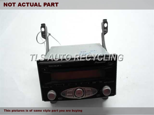 2006 Scion xB Radio Audio / Amp. PIONEER CD AM/FM RADIO 08600-21802