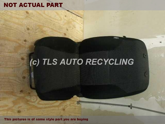 2007 Scion tC Seat, Front. SIGNS OF WEAR 71100-21730-B1 BLACK PASSENGER FRONT CLOTH SEAT