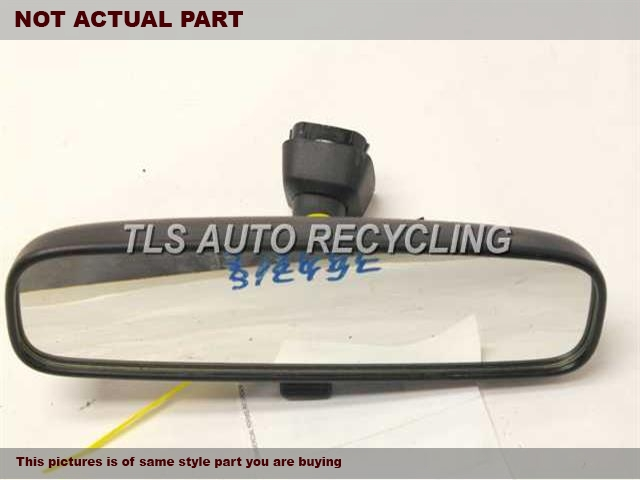 2007 Toyota RAV 4 Rear View Mirror Interior. 87810-AA011BLACK INTERIOR REAR VIEW MIRROR