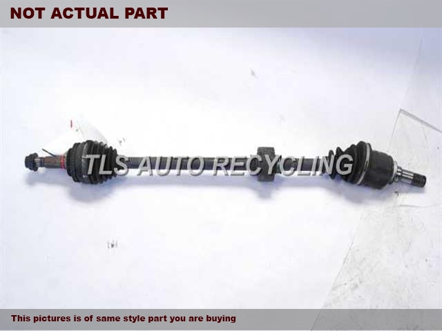 2006 Scion xB Axle Shaft. PASSENGER AXLE SHAFT 43410-52070