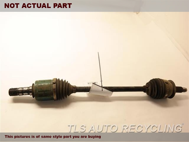 2017 Subaru WRX Axle Shaft. FRONT AXLE, 2.0L