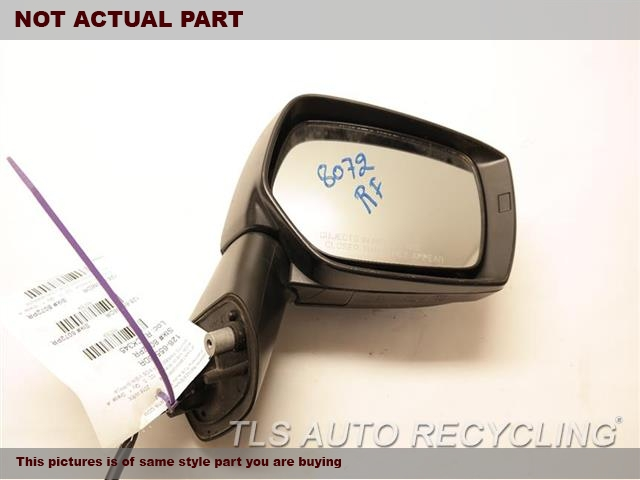 2017 Subaru WRX Side View Mirror. RH,RED,PM,NON-HEATED, R.