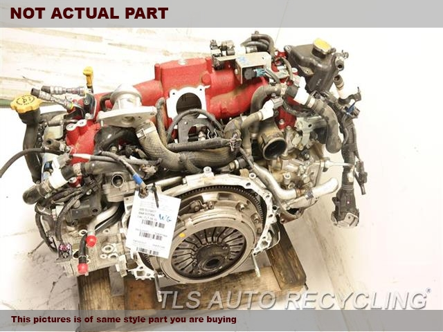 2017 Subaru WRX Engine Assembly. ENGINE ASSEMBLY 1 YEAR WARRANTY