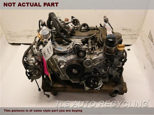 2017 Subaru WRX Engine Assembly. ENGINE KNOCKINGENGINE ASSEMBLY, FOR PARTS'KNOCKING'